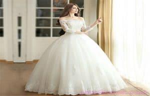 انواع لباس عروس