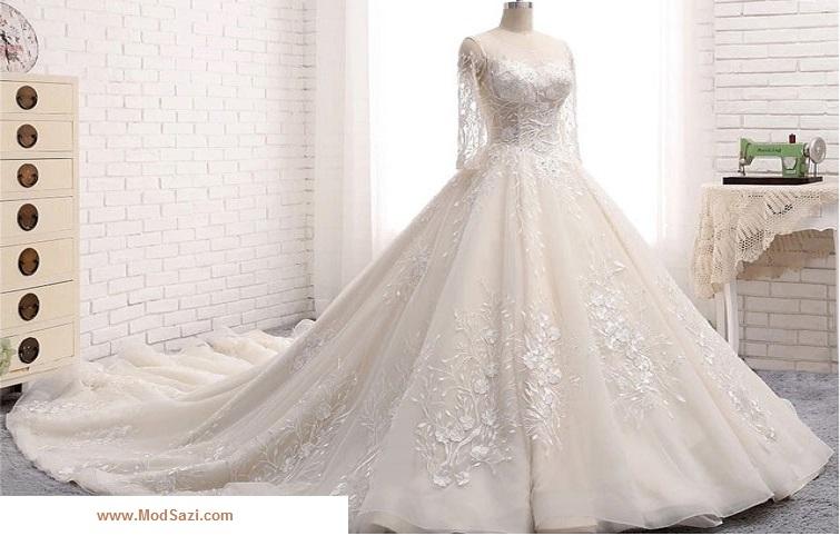 لباس سفید عروسی
