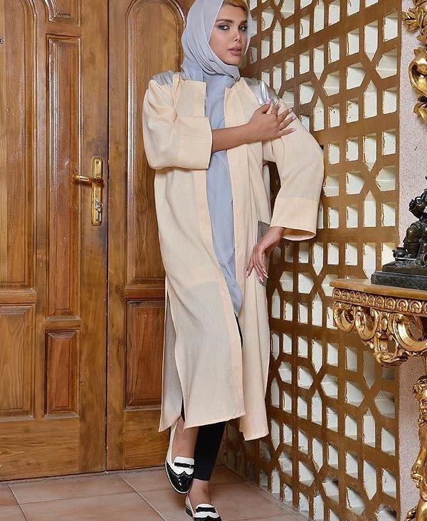 مدل مانتو جلو باز بلند زنانه