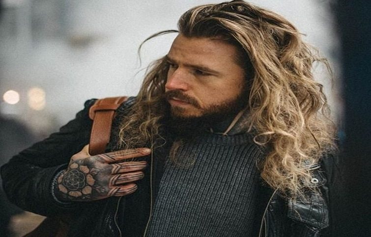 انواع مدل موی مردانه بلند