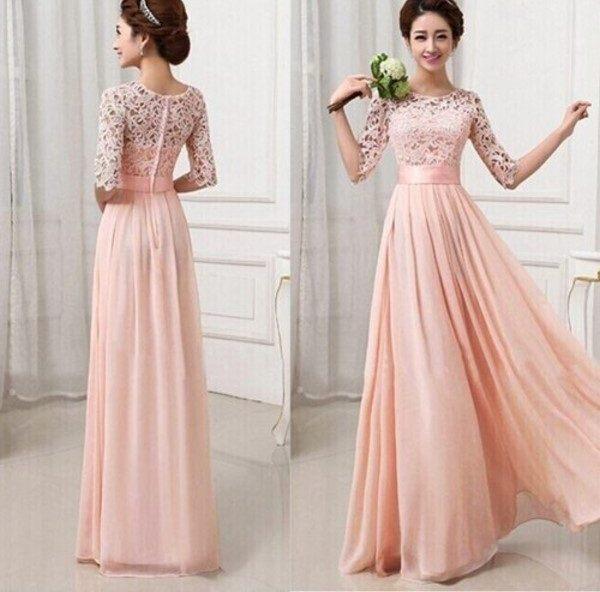 مدل لباس با طرح و رنگ صورتی
