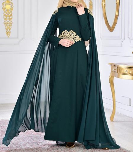 مدل لباس بلند زنانه پوشیده