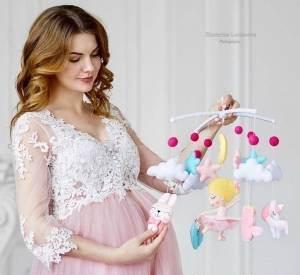مدل لباس فانتزی بارداری ویژه مجلس