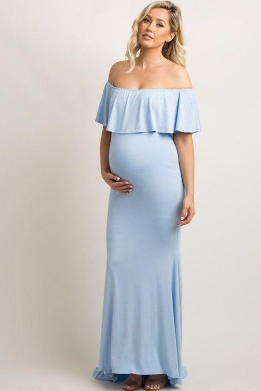 لباس بارداری مجلسی بلند