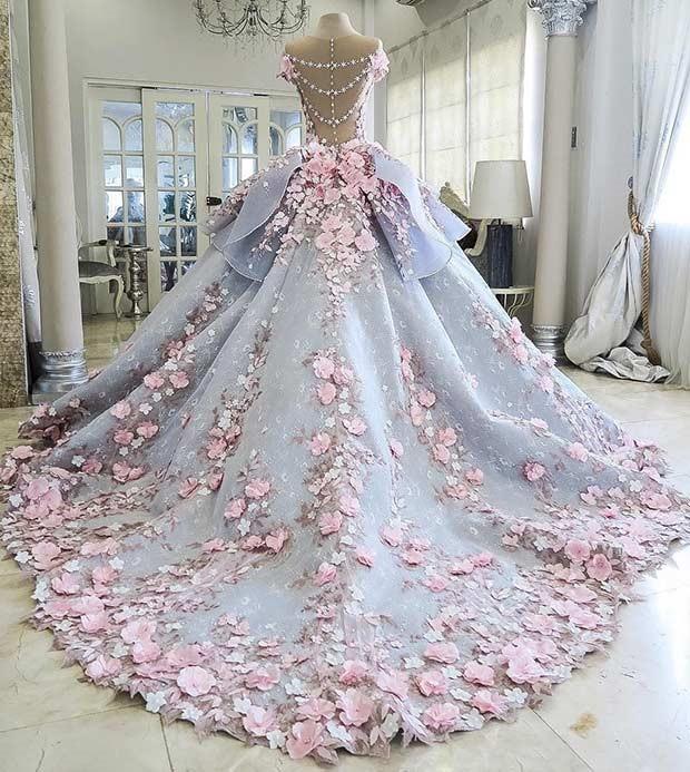 لباس مجلسی پرنسسی زنانه