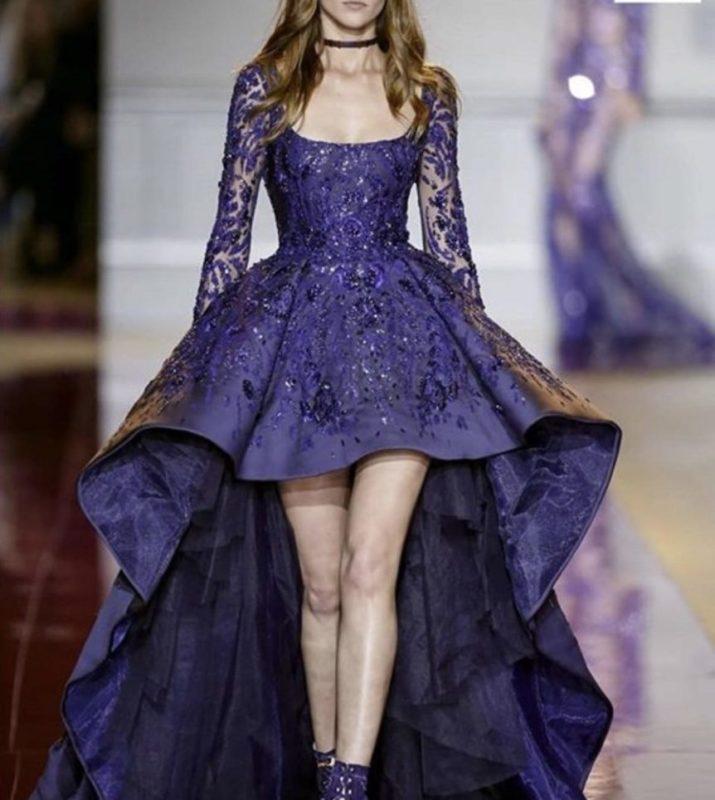 لباس مجلسی دخترانه از پشت بلند