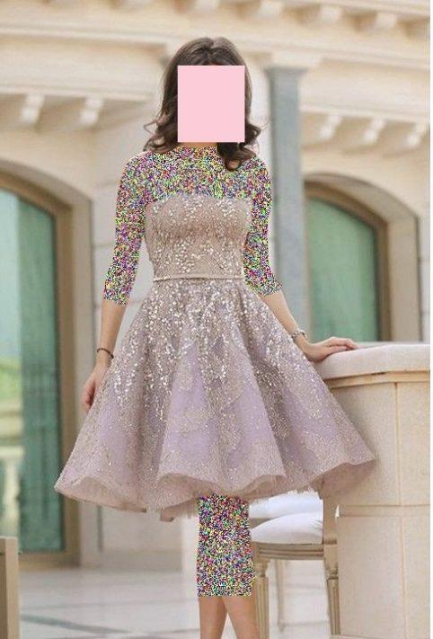 لباس مجلسی دخترانه دامن کلوش