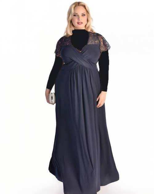 زیباترین مدل لباس های مجلسی فری سایز