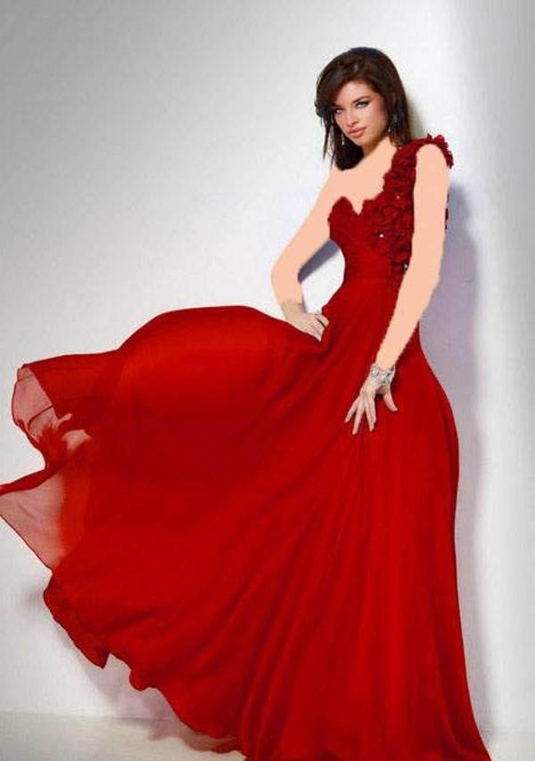 مدل لباس سبک اروپایی به رنگ سال