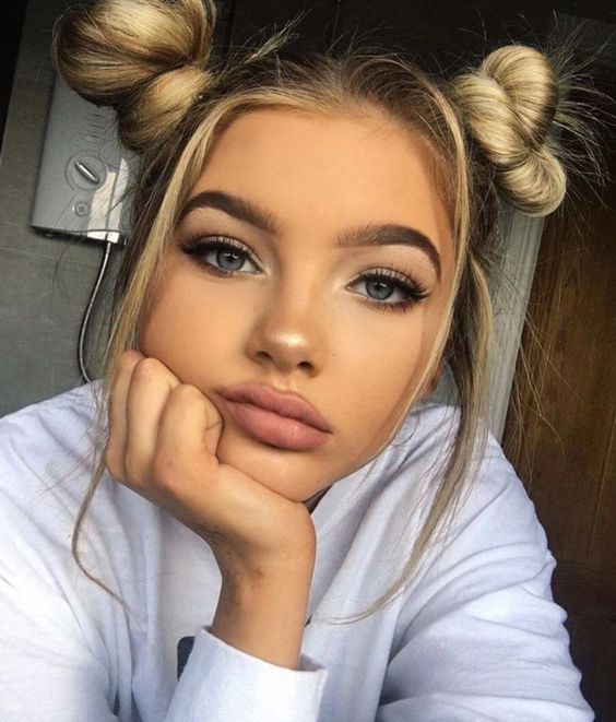 آرایش صورت دخترانه برای عروسی