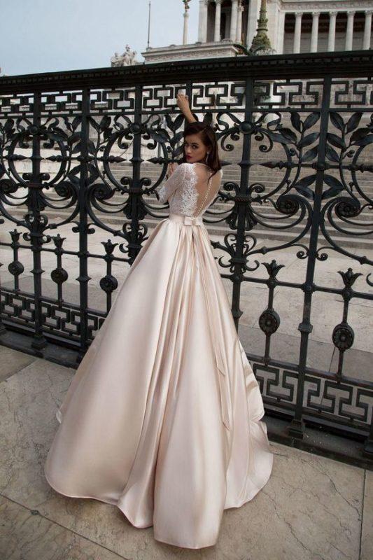 عکس از لباس عروس جدید
