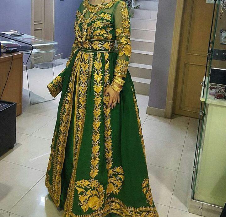لباس بندری با طراحی هندی