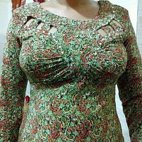 مدل لباس بندری مجلسی به رنگ خاص