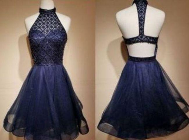 مدل لباس شب کوتاه دخترانه