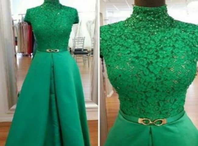 لباس مجلسی گیپور زیبا