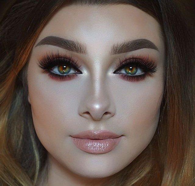 مدل آرایش صورت برای دختران
