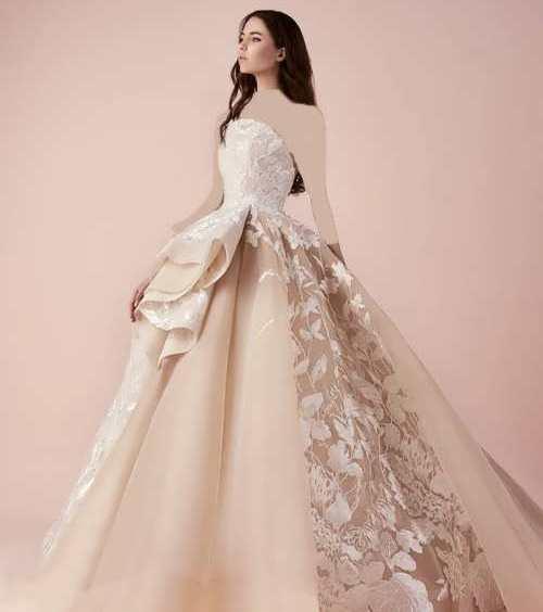 لباس پرنسسی ویژه جشن نامزدی و عقد