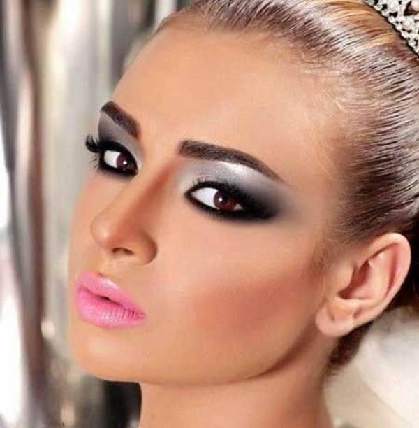 مدل آرایش جذاب برای عروس خانم های لاغر