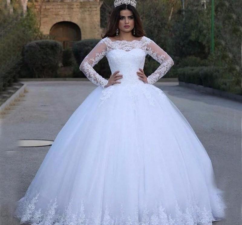 لباس پفی عروس