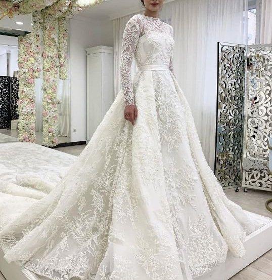 لباس پوشیده برای عروس