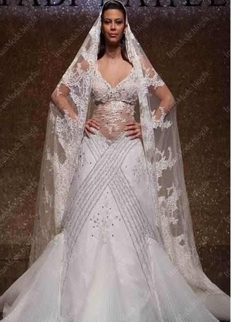 لباس عروس های اروپایی