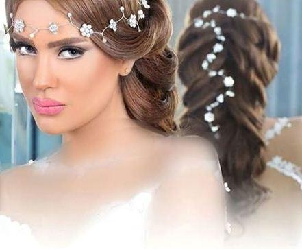مدل موی بافته برای عروس