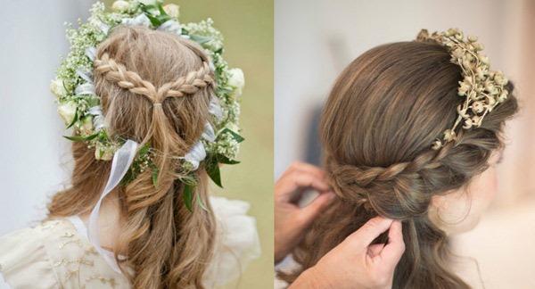 مدل موی مخصوص عروس خانم ها