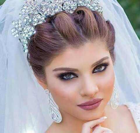 مدل موی عروس جذاب