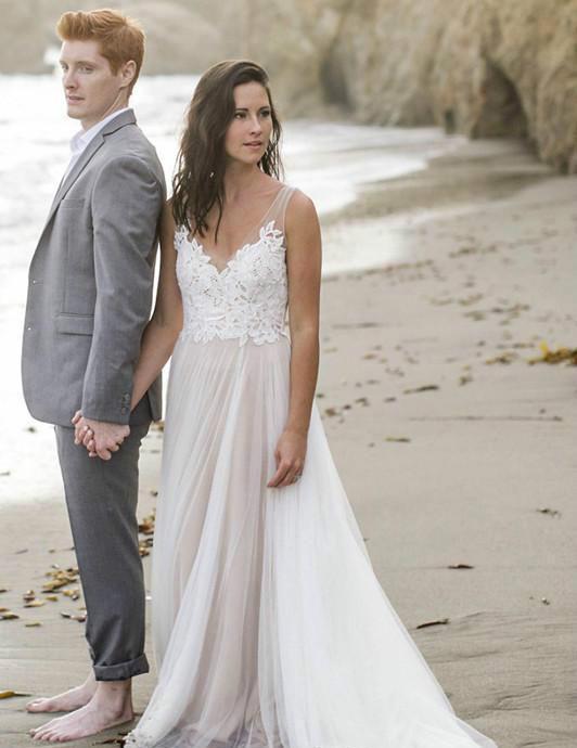 ژست عروس با لباس