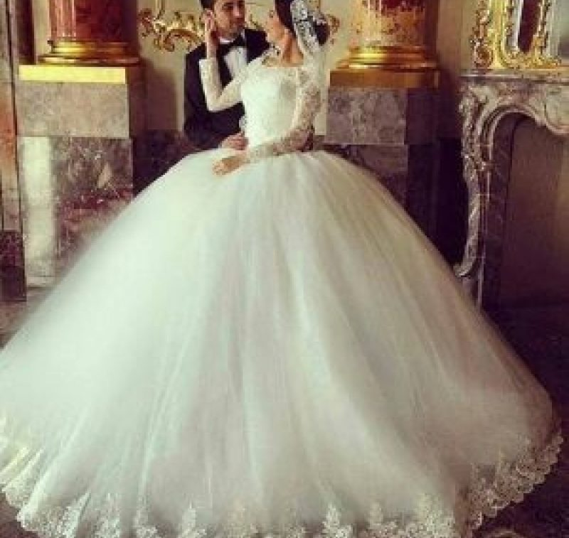 عکس لباس عروس پرنسسی و عروسکی