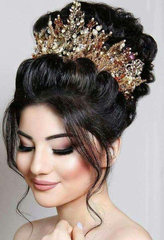 متد زیبا برای ارایش عروس