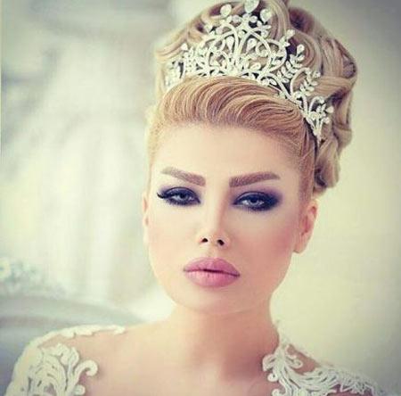 زیباترین متد های ارایش عروس