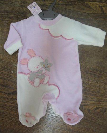 لباس نوزاد سرهمی دخترانه