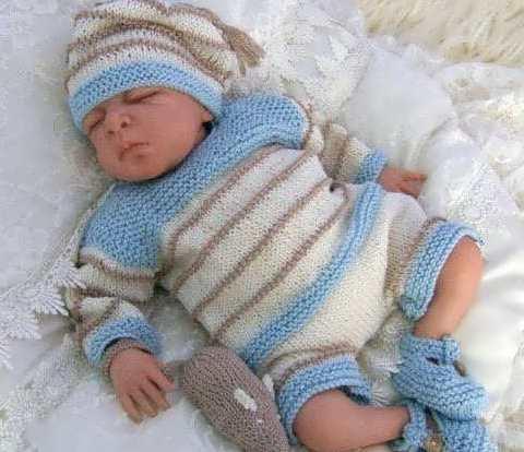 لباس نوزاد گرم پسرانه