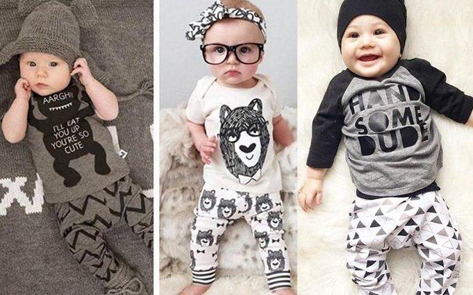 مدل لباس شیک و لاکچری برای نوزاد