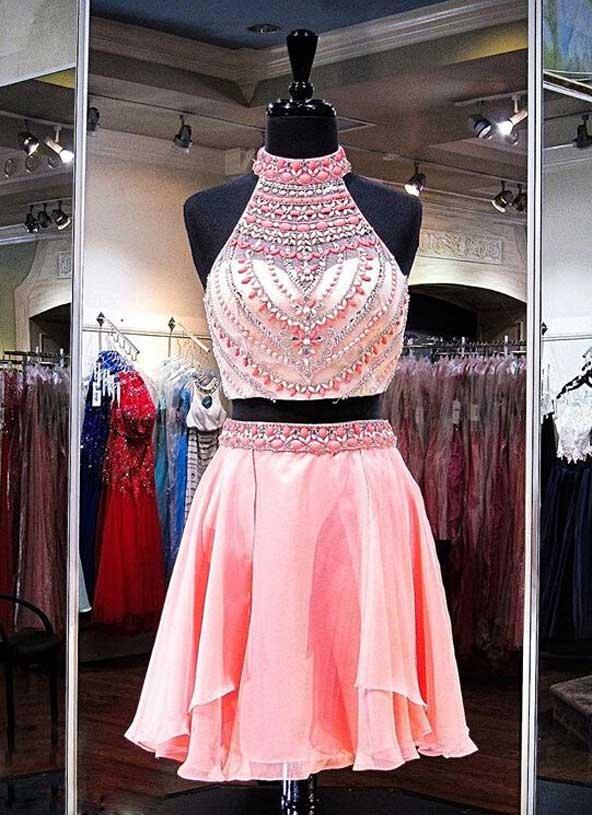 جدیدترین مدل لباس مجلسی کوتاه دو تیکه ۲۰۱۹ دخترانه