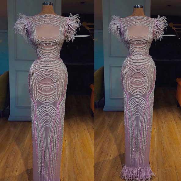 لباس مجلسی مدل ریش ریش ۲۰۱۹