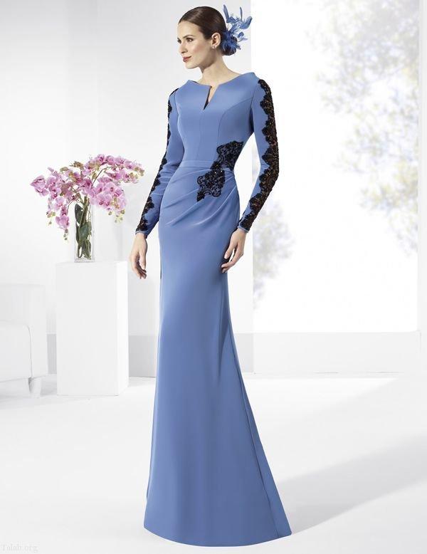 مدل لباس مجلسی گلدار ۲۰۱۹ شیک