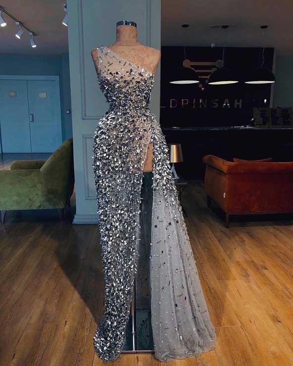 مدل لباس مجلسی ۹۸ شیک چاک دار