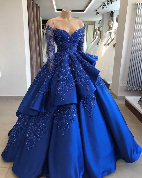 مدل لباس مجلسی ۹۸ پفی دخترانه سال